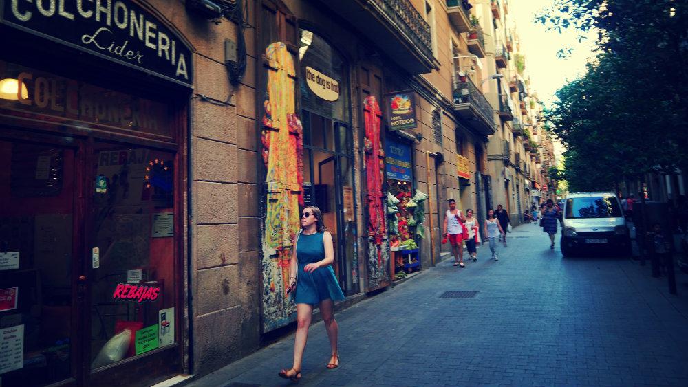 Calle-Joaquín-Costa  Les milles couleurs du raval Calle Joaqu  n Costa