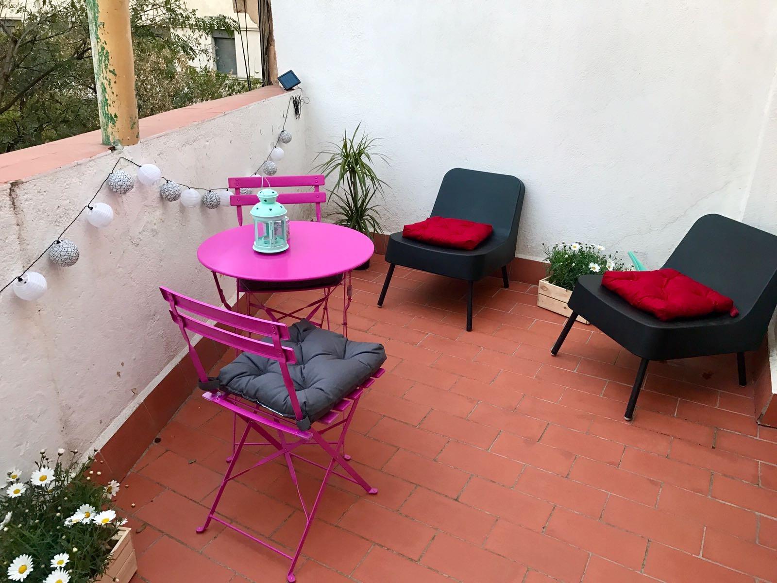 A- Estudio Calle Portal Nou, 4º planta (Exterior) Terraza