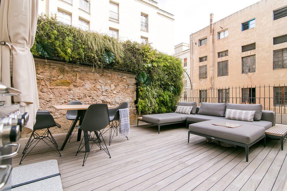 Magnifique appartement Carrer de Sant Pau – Terrasse privative
