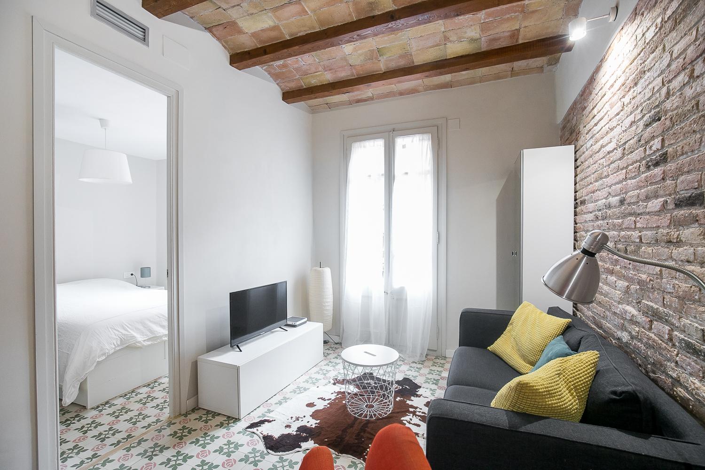 Appartement Deux Chambres Dans Le Poble Sec