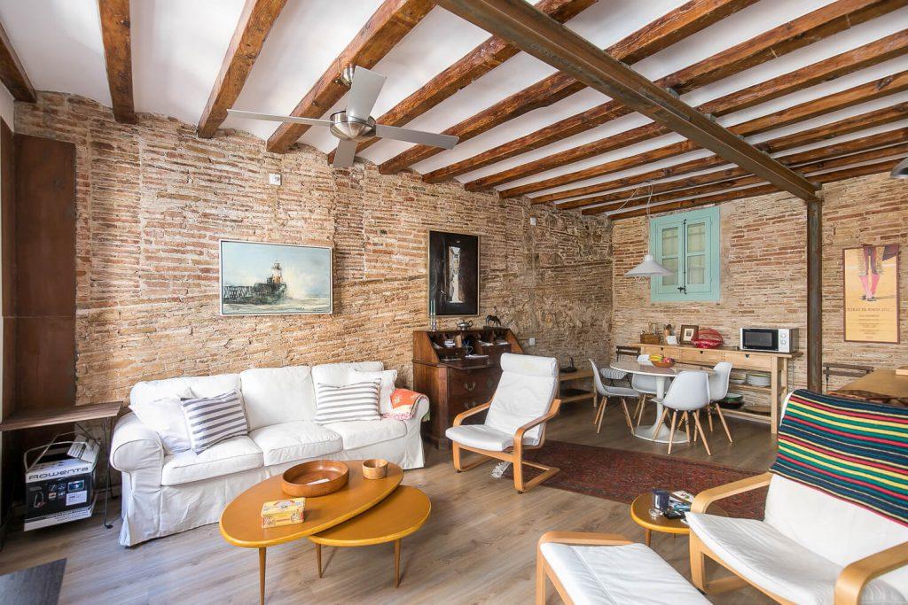 Renovated 1 bedroom calle comtal plaza catalunya