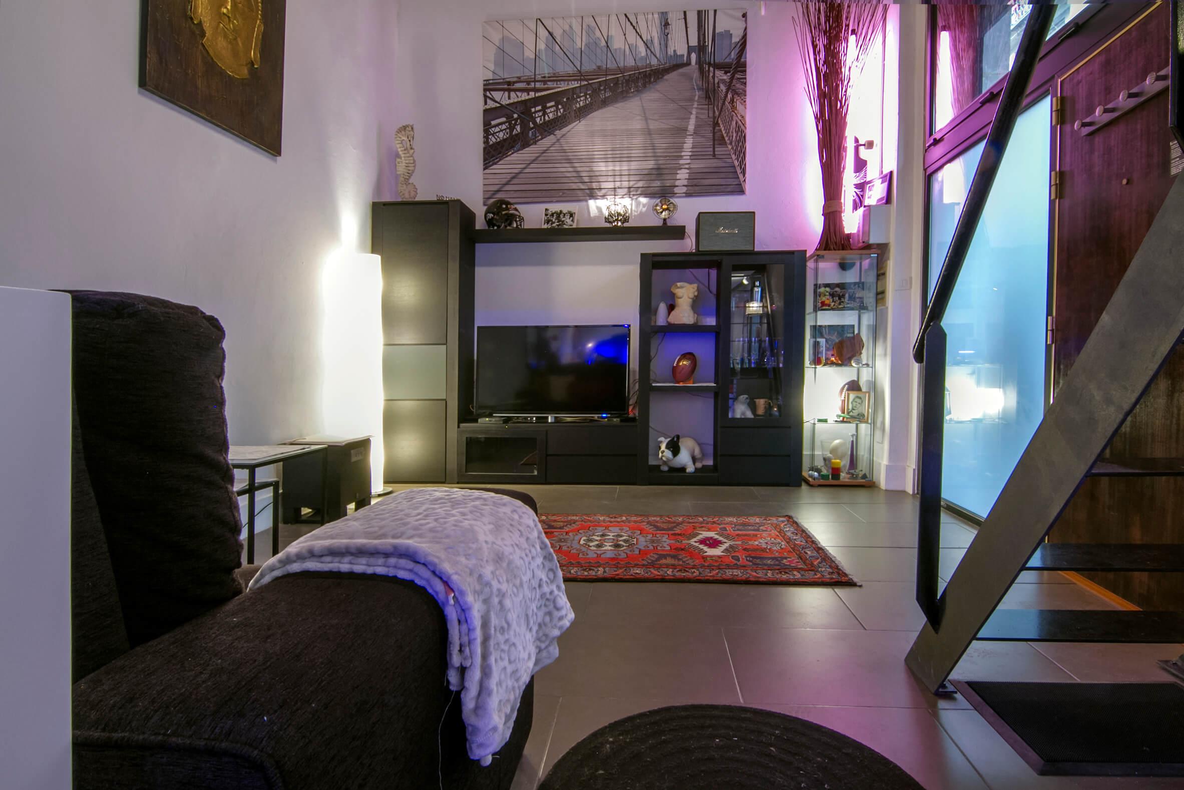 Duplex 2 habitaciones dobles calle milans