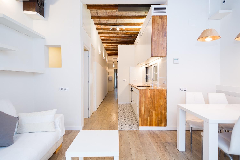 Deux chambres doubles dans Rabassa – Gracia