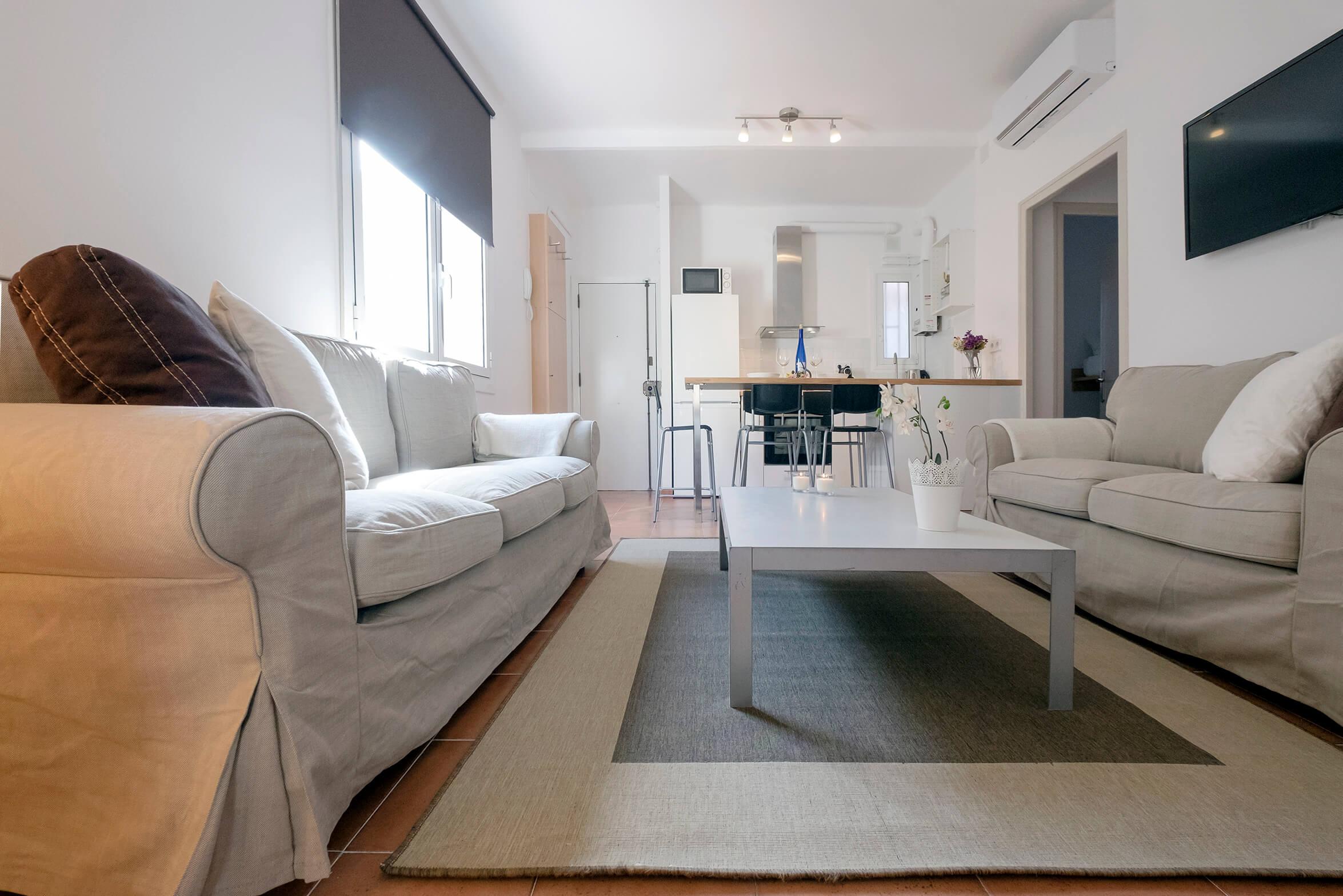 2 habitaciones calle elkano Poble sec